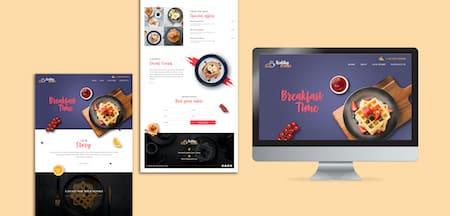 Marketing Gastronomie - Webseite Restaurant